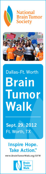 Banner: Dallas-Fort Worth Brain Tumor Walk