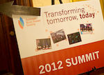 2012 NBTS Summit sign