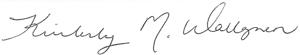 Kim Wallgren's Signature