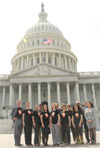 Photo: NBTS Advocates in Washington, D.C.