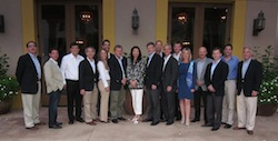 Defeat GBM Scientific Meeting Group: N. Paul TonThat, Dr. Paul Mischel, Dr. Wenbin Li, Dr. W. K. Alfred Yung, Carrie Treadwell, Dr. Ingo Mellinghoff, Dr. Webster Cavenee, Dr. Sujuan Ba, Dr. Otmar Wiestler, Dr. John DeGroot, Dr. Fred Lang, Scott Memmott, Catherine Stace, Matt Kapp, Michael Nathanson, Dr. Frank Furnari, Kevin Courtney. Not pictured: Dr. Anna Barker, Dr. Tim Cloughesy
