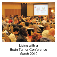 Living with a Brain Tumor Conference March 2010